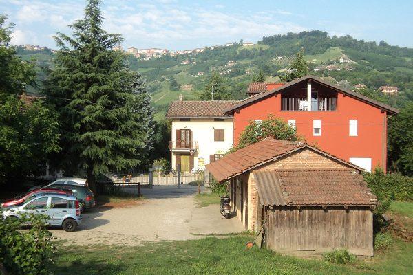 Una grande area oltre al cortile